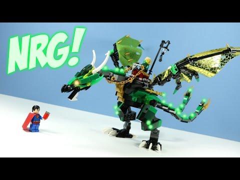 LEGO Ninjago The Green NRG Dragon Set #70593 Adventure
