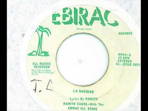 La Navidad - Ramito Canta With The Ebirac All Stars .