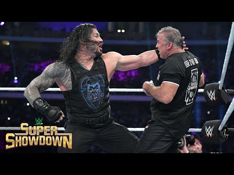 Roman Reigns brutally powerbombs Shane McMahon: WWE Super ShowDown 2019