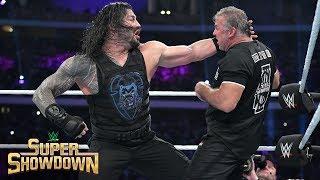 Roman Reigns brutally powerbombs Shane McMahon: WWE Super ShowDown 2019