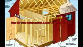 Backyard Shed Plans - Playground Shed Plans, Designs, Blueprints
