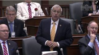 Fedeli Questions Premier on Damaging Financial Accountability Officer Report