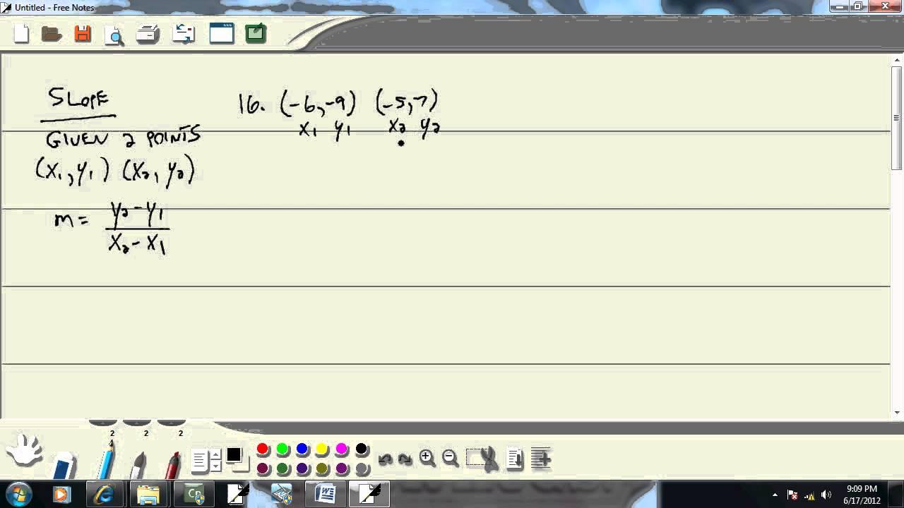 Elementary Algebra - Practice Final Exam 3 - Problem 16 - YouTube