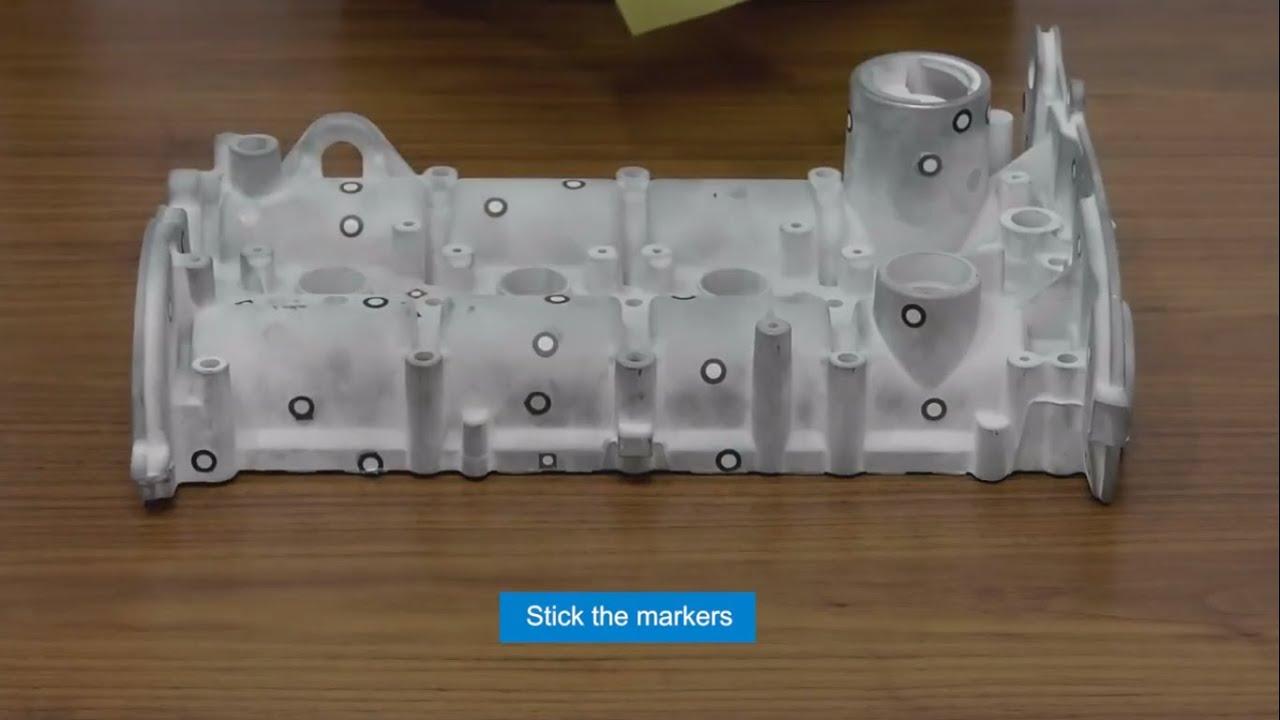 Sử dụng công nghệ scan 3D sao chép, xử lý khuôn mẫu thật dễ dàng, nhanh chóng và chính xác