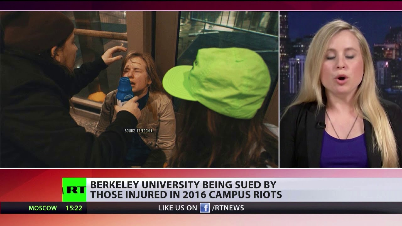 Berkeley university being sued by those injured in 2016 campus riots