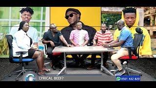 HOT Argument!! Pundits Discuss Medikal, Strongman, Kwesi Arthur Beef