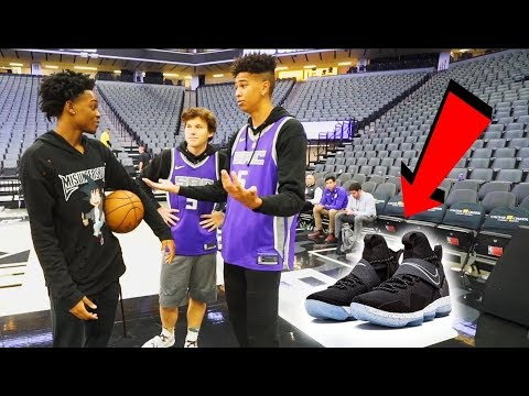 Download Youtube: 1v1 BASKETBALL WAGER vs. Future NBA SUPERSTAR De'Aaron Fox! LOSER BUYS ANY NIKES!