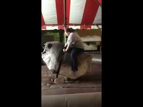 Laffy Taffy Mechanical Bull