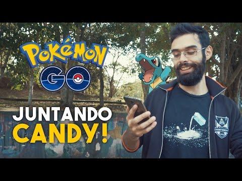 EM BUSCA DO FERALIGATR!   Gameplay Pokémon GO 4K