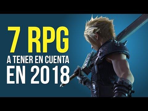 7 RPGs a tener en cuenta en 2018