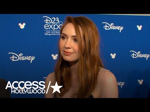 Karen Gillan Talks D23 & Which 'Avengers: Infinity War' Cast Member She Was Most Excited To Meet