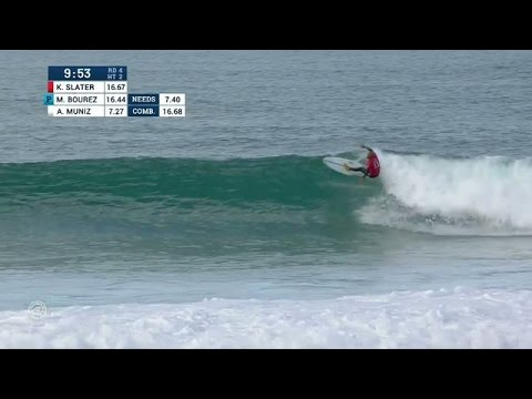 Slater Doubles Down in Round Four