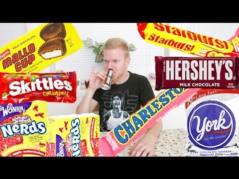 Norwegian trying American candy!