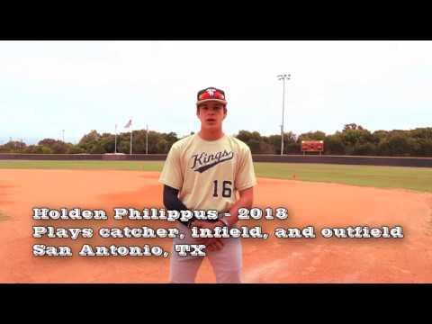 Holden Philippus Baseball College Recruiting Video