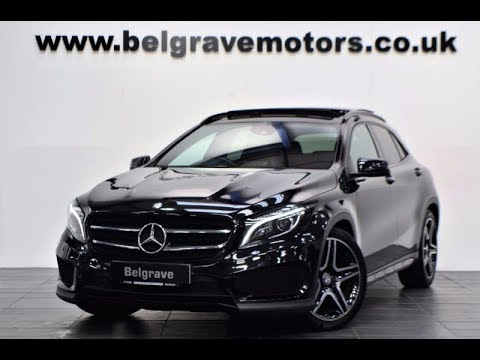mercedes gla 220 cdi 4matic amg line premium plus panoramic roof night pack youtube. Black Bedroom Furniture Sets. Home Design Ideas