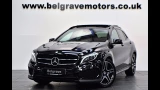 Mercedes GLA 220 CDI 4MATIC AMG Line Premium Plus Panoramic Roof Night Pack