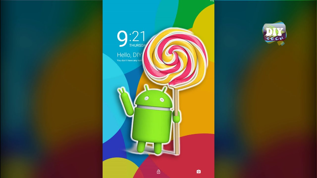 how to install android lollipop lock screen on your android devices youtube
