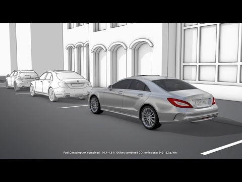 the cls active parking assist mercedes benz original youtube. Black Bedroom Furniture Sets. Home Design Ideas