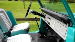 Take me for a ride in a restored 1966 Bronco roadster.mov