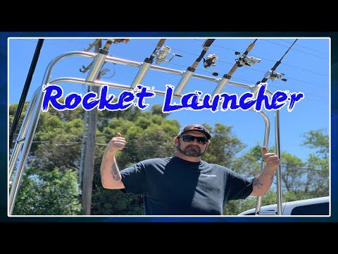 OCEAN SOUTH ROCKET LAUNCHER BOAT INSTALL   HOW TO