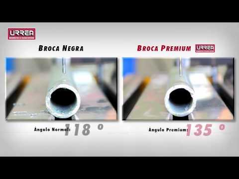 Usos de las brocas de alta velocidad premium Urrea