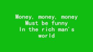 Money Money Money (Abba) - karaoke