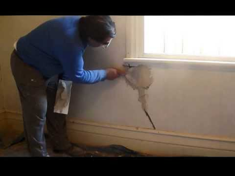 Lath and Plaster Repairs Part 2