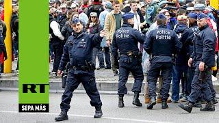 Bruselas, en alerta máxima ante la amenaza de atentados terroristas
