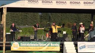Bobby Curtola FORTUNE TELLER Live Nipawin SK 2012 Aug 26th