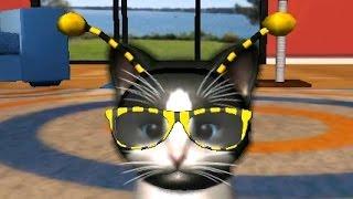 Виртуальный Котенок - Новый питомец. (6 день) Игровой мультик для детей.