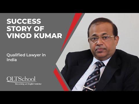 Success Story of Vinod Kumar - QLTS School's Former Candidate