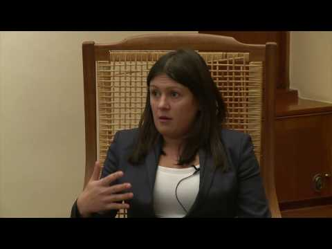 'The Future of the Left' Nuffield College, Oxford 31/01/2017. Guest speaker Lisa Nandy (Q&A)