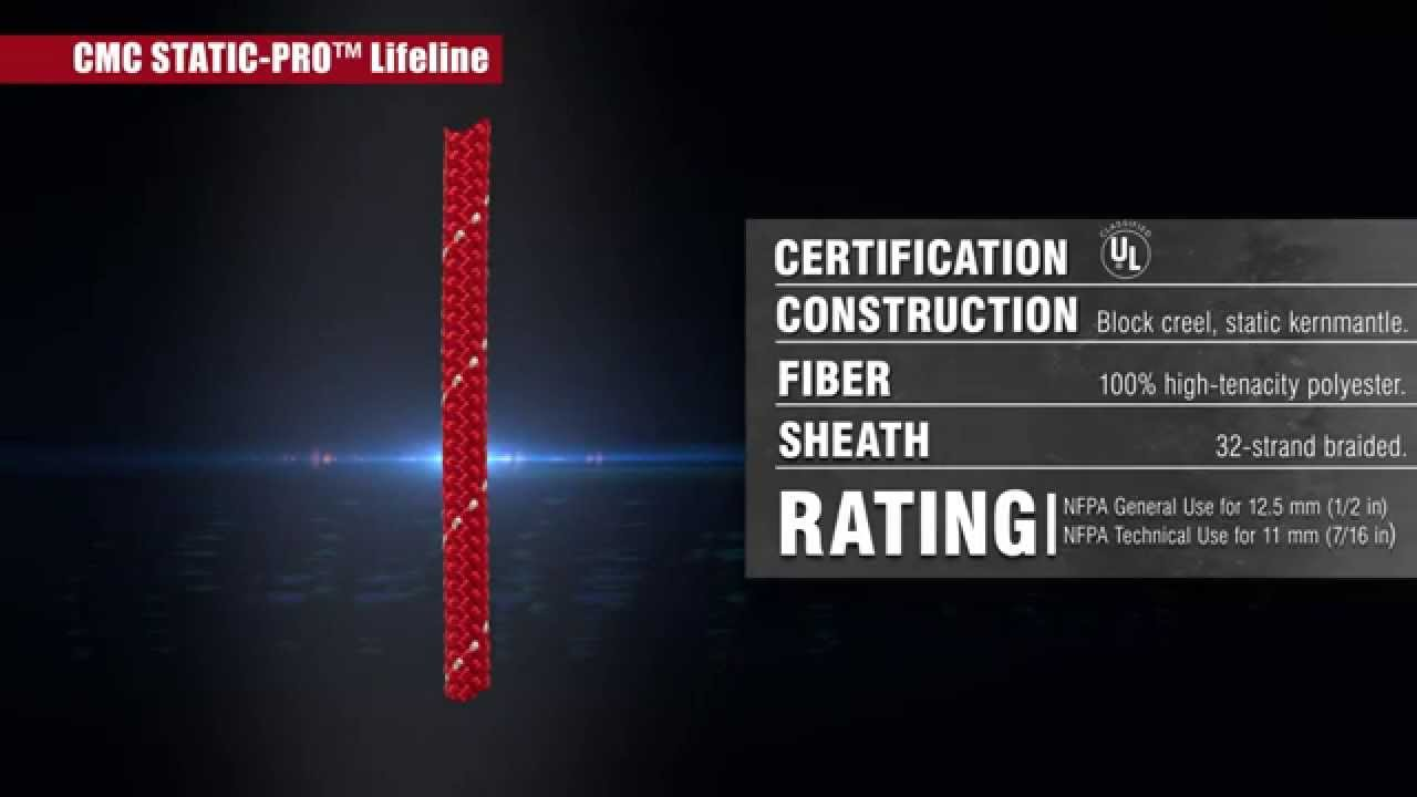 Cmc Rescue S Static Pro Lifeline And Cmc Lifeline Learn The Difference Youtube