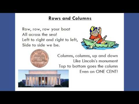 Rows and Columns by Miss Modena