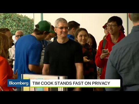 Cook Will Not Build 'Back Doors' In Apple Products