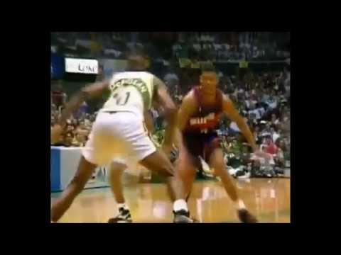 NBA on NBC Intro - 1993 NBA Playoffs - Suns vs. Supersonics Game 5