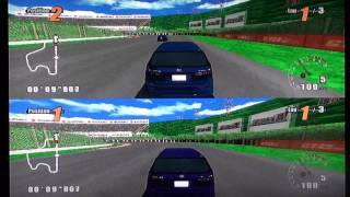 GT Pro Series (Wii) Split-Screen Race at Green Field