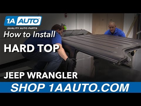 How to Install Hard Top 06-18 Jeep Wrangler