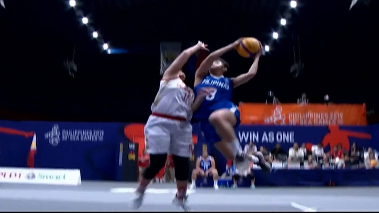 Highlights Philippines Vs Indonesia 3x3 Basketball W