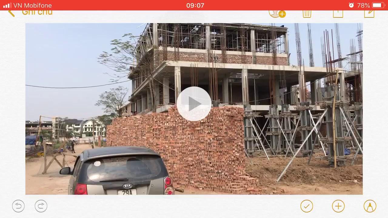 Review bất động sản – liền kề Geleximco Lê Trọng Tấn khu C 80m2
