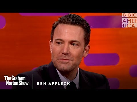 Ben Affleck's Son Believes He's Really Batman - The Graham Norton Show