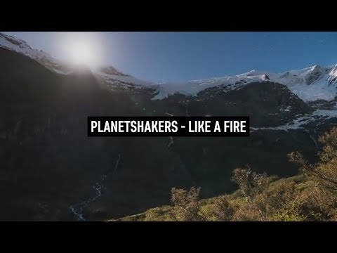 PLANETSHAKERS - Like a Fire (Lyric Video german subbed)