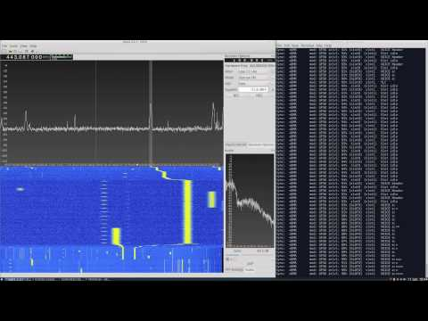 DMR reception with RTL-SDR using GQRX and DSD in Central London