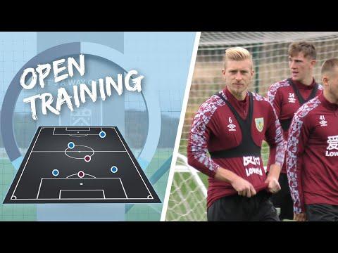 TRAINING   Ben Mee Back In Full Training