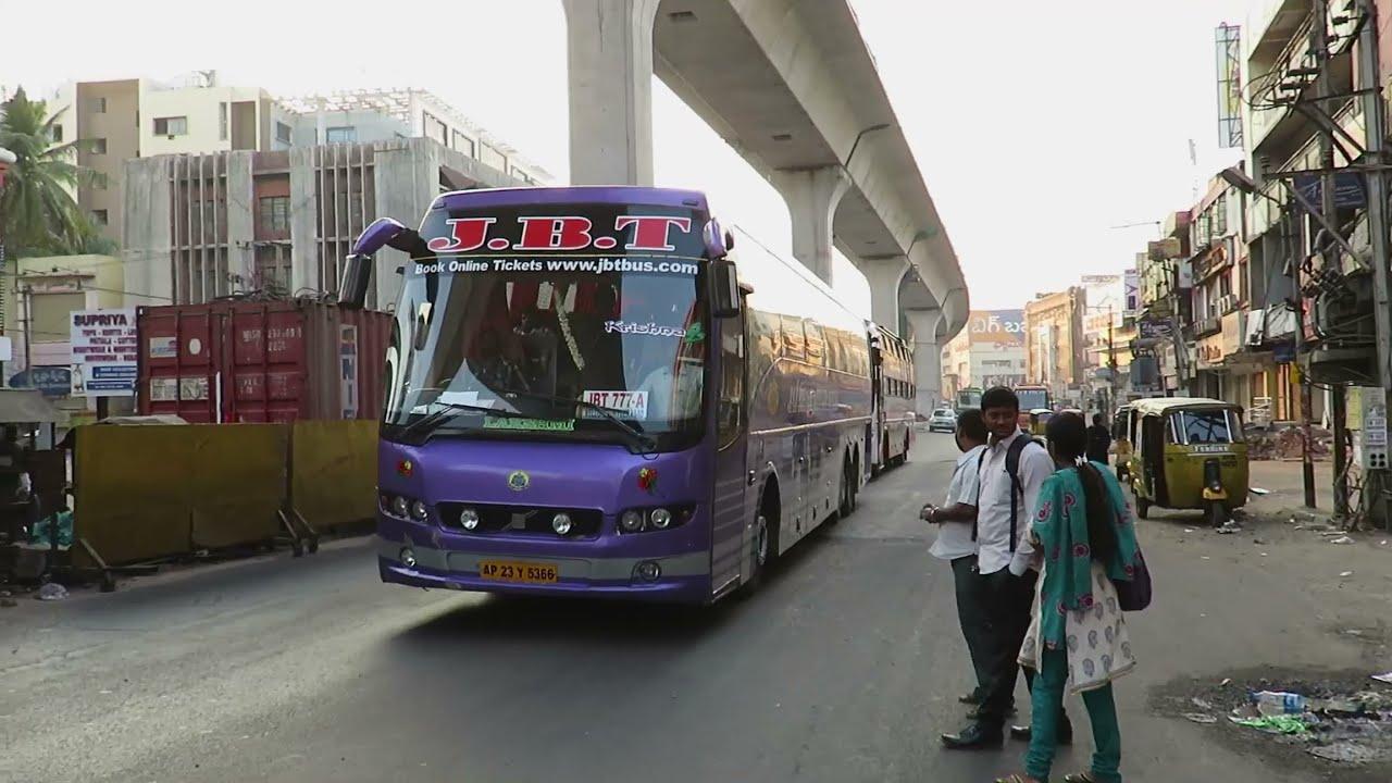 8 In 1 Volvo Buses In Hyderabad Volvo B9r Volvo B11r