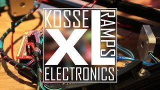 RepRap Kossel XL 3D Delta Printer Electronics Assembly DIY#6