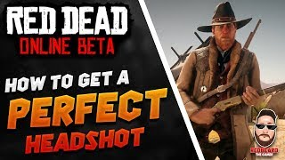 ☠How to get a PERFECT Aim in Red Dead Online☠