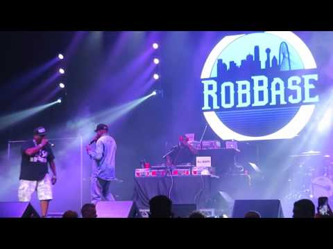 """Rob Base - Medley including """"Joy and Pain"""" - I Love the 90s - Webster Bank Arena - July 12, 2017"""