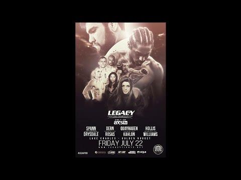 Legacy 58 Prelims - Darrell Wood vs Aaron Davis