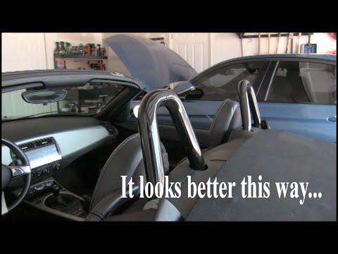 2005 BMW Z4 Accidental Roll Bar Hoop Mod